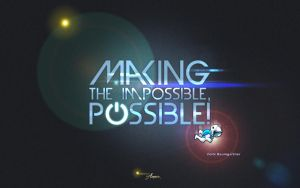 Making the impossible, POSSIBLE! by Ameer108