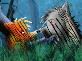 Tiger Wolves Manip by Angelic-Bear