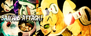 .:Saiyans Attack:. sig by Secretsx17