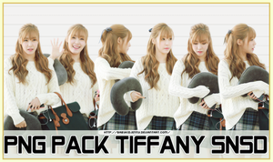[PNG PACK] Tiffany (SNSD) by babykidjenny