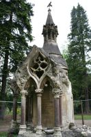 Stock - Brookwood Cemetery 57 by OghamMoon