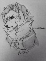 Sketch Stonewright by October-Moon337