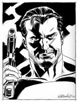 Punisher Portrait by BillReinhold