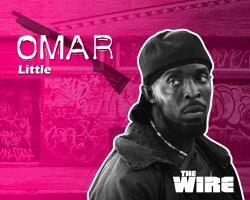 The wire:_Omar by dmavromatis