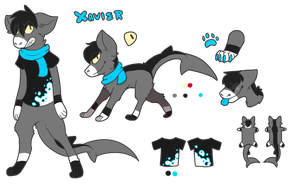 Xavier :REF: FOR SALE (OTA) by Swift-The-Kitty