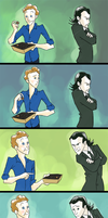 Loki and the Loon Fanart by SMachajewski