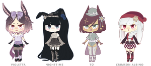 [1/4 OPEN] Usagimimis (Set Price) by victori-ous