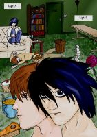 Page 1: Insomnia - Death Note by regasssa