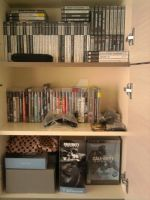 My PlayStation games so far! :) by screamingsnake