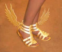Winged Sandals of Myth by OlympianGrace