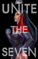Skratchjams - Unite The Seven - Wonder Woman by UltimateTattts