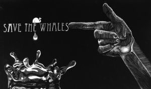 Save the Whales by Chirko