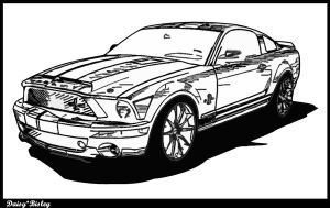 Mustang by DaisyBisley