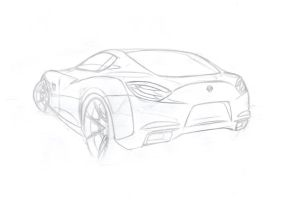 Nissan-Sketch by Morfiuss