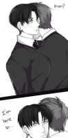 Levi's smile - Ereri - PART 2 by EryenArt