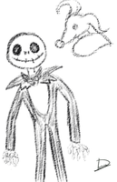 The nightmare before christmas by Kryshoul
