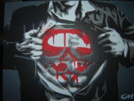 Superman 2 by Stencils-by-Chase