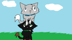 Oliver and Shadow, brothers. by Demonthewolf456789