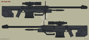 Halo Sniper Rifle by Wolff60