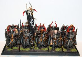 Chaos warrior unit 1 by paelkeizah