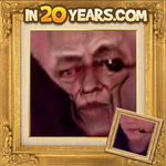 Grin's chin in 20 Years by Spottedfire-cat