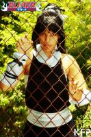Yoruichi Cosplay 422 Over the fences by KhaosTheory455