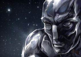 silver surfer by Karelias
