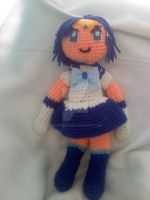 Crochet Sailor Mercury (UPDATED) by Maw1227