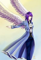 Violet Wings by GoldieAuvs