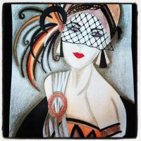 Art Deco Girl by AmyLou31