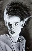 The Bride of Frankenstein by Tater-Vader