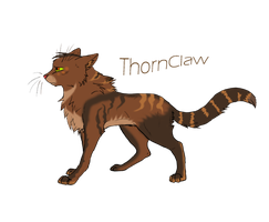 ThornClaw -Cat- by KajiAkuma