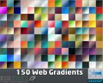 150 Web Gradients by FackFebruary