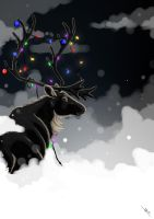 Christmas Reindeer by Brie91
