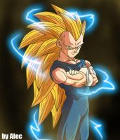 Vegeta SSJ3 by AnimaArts