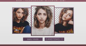 Emily Rudd Png Pack by valeryscolors
