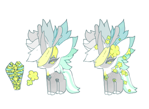 Flowercage Mascot Contest Entry ! by VazlaKat