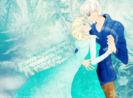My first Jelsa drawing by amyamiki