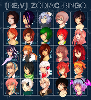 Re:Volution : ZODIAC BINGO by nozomei