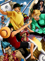 One piece - Enies Lobby by nyb