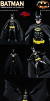Custom Batman 1989 Movie Style Action Figure by MintConditionStudios