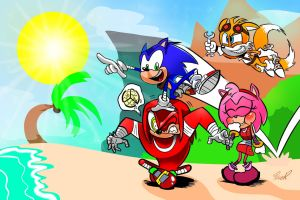 (Sonic Boom) Adventure Awaits! by miitoons