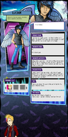 MH BIO: LUCIAN  [page style 2.2] by DisastrousBunny