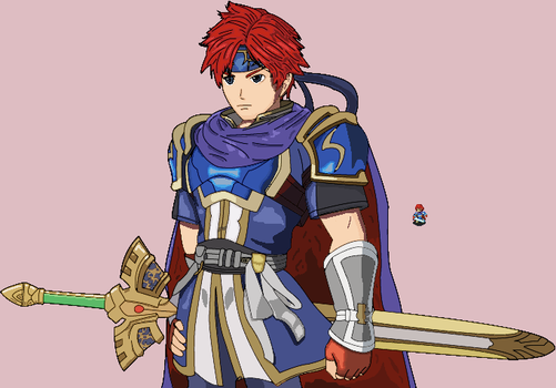Roy [Fire Emblem Fates style..ish] by Shadarkness