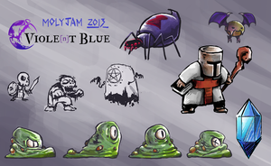 characters for molyjam 2013 by Kokiri-kun
