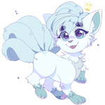 Pokemon: Alola Form Vulpix by QueenAshi