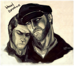 Blood Brothers by mysteriousharu