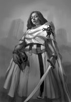 Female Templar by Fleret