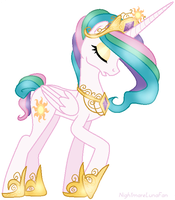 Princess Fancylestia by NightmareLunaFan