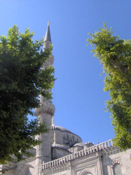 The Sultan Ahmed Mosque by siyahdua
